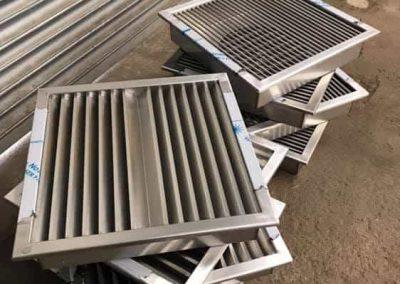 bespoke Stainless Steel ventilation grills